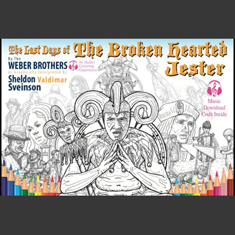 Weber Brothers Colouring Book